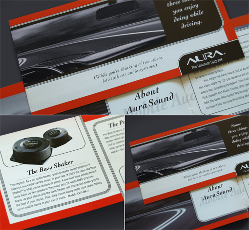 Aura Mobile Audio Brochure